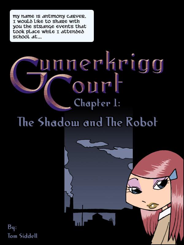 Gunnerkrigg Court Liveblog 00000001